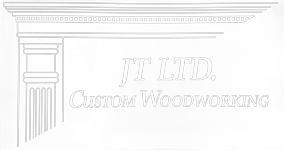 JT Ltd. Custom Woodworking Sticky Logo